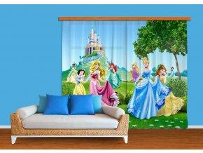 Textilní závěs PRINCESS FCPXXL6016, 280 x 245 cm (2 ks), úplné zastínění