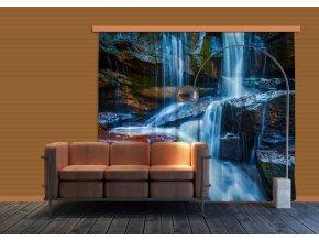 Textilní závěs WATERFALL BIG FCSXXL7400, 280 x 245 cm (2 ks)