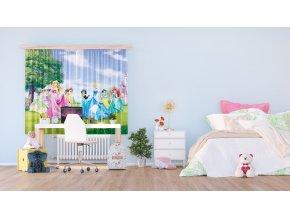 Textilní závěs PRINCESS 2 FCSXL4322, 180 x 160 cm (2 ks)