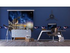 Textilní závěs COSMOS FCSXL4805, 180 x 160 cm (2 ks)