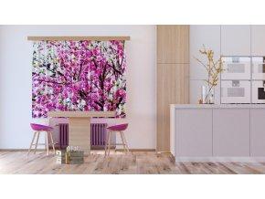 Textilní závěs FLOWERS FCSXL4806, 180 x 160 cm (2 ks)