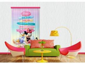 Textilní závěs MICKEY&PONNIE FCSL7107, 140 x 245 cm (1 ks)