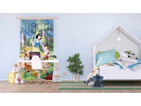 Textilní závěs SNOWWHITE FCSL7115, 140 x 245 cm (1 ks), lehké zastínění