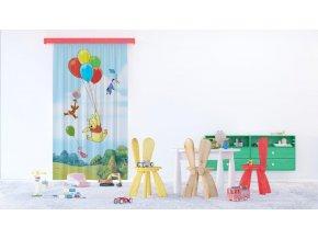 Textilní závěs WINNIE THE POOH FCSL7140, 140 x 245 cm (1 ks)