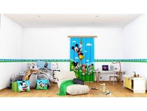Textilní závěs MICKEY MOUSE FCSL7141, 140 x 245 cm (1 ks)