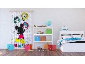 Textilní závěs MICKEY MOUSE FCSL7142, 140 x 245 cm (1 ks)