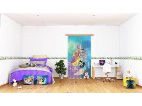 Textilní závěs PRINCESS FCSL7160, 140 x 245 cm (1 ks), lehké zastínění