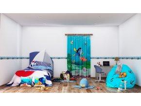 Textilní závěs NEMO FCPL6108, 140 x 245 cm (1 ks), úplné zastínění
