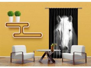 Textilní závěs HORSE FCSL7520, 140 x 245 cm (1 ks)