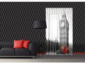 Textilní závěs ENGLAND FCSL7528, 140 x 245 cm (1 ks)