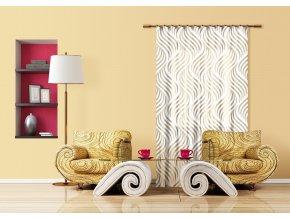 Textilní závěs CREATIVE FCSL7532, 140 x 245 cm (1 ks)