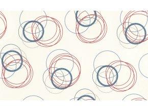 Vliesová/ vinylová tapeta na zeď Rasch 941128, kolekce Globe, styl grafický, 1,06 x 10,05 m