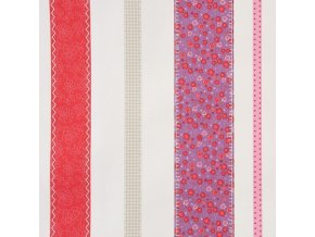 Papírová tapeta na zeď Caselio 62055088, kolekce GIRLS ONLY, materiál papír, styl moderní, dětský 0,53 x 10,05 m