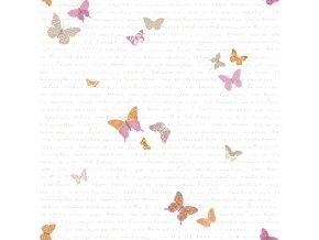 Papírová tapeta na zeď Caselio 69104035, kolekce PRETTY LILI, materiál papír, styl moderní, dětský 0,53 x 10,05 m