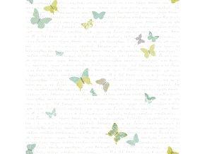 Papírová tapeta na zeď Caselio 69107079, kolekce PRETTY LILI, materiál papír, styl moderní, dětský 0,53 x 10,05 m