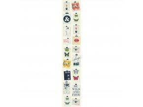Vliesový panel Caselio 67071212, kolekce ACCENT, materiál vlies, styl moderní 50 x 280 cm