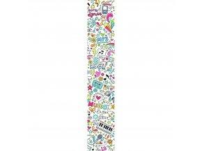 Vliesový panel Caselio 67075652, kolekce ACCENT, materiál vlies, styl moderní 50 x 280 cm