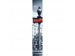 Vliesový panel Caselio 67078090, kolekce ACCENT, materiál vlies, styl moderní 50 x 280 cm