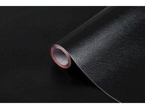Samolepicí fólie d-c-fix kůže černá 2001923, ozdobné vzory, šíře 45 cm