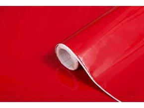 Samolepicí fólie d-c-fix lak červená  2001274, uni, šíře 45 cm