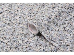Samolepicí fólie d-c-fix porrinho šedomodrá 2002574, mramor, šíře 45 cm