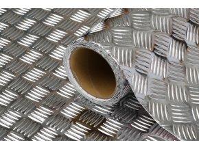 Samolepicí fólie d-c-fix Riffelblech 2100060, kovové, šíře 45 cm
