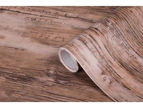 Samolepicí fólie d-c-fix rustik  2002813, dřevo, 0,45x15 m