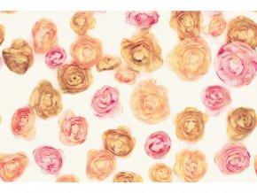 Samolepicí fólie d-c-fix růže 2003211, ozdobné vzory, šíře 45 cm