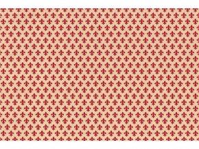 Samolepicí fólie d-c-fix zámecká červená 2002058, ozdobné vzory, šíře 45 cm
