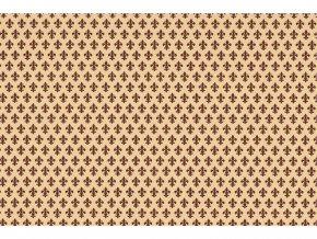 Samolepicí fólie d-c-fix zámecká hnědá 2002060, ozdobné vzory, šíře 45 cm