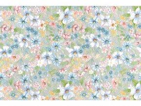 Samolepicí fólie d-c-fix květiny 2002403, ozdobné vzory, šíře 45 cm