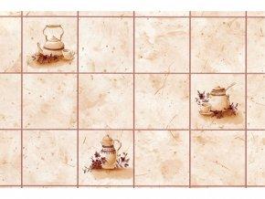 Samolepicí fólie d-c-fix kachličky béžové 2002619, kachle, šíře 45 cm