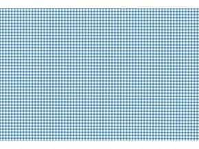 Samolepicí fólie d-c-fix kostička modrá 2002805, ozdobné vzory, šíře 45 cm