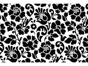 Samolepicí fólie d-c-fix baroko černá 2003098, ozdobné vzory, šíře 45 cm