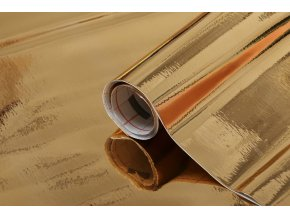 Samolepicí fólie d-c-fix zlatá 2014528, kovové