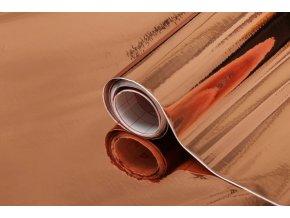 Samolepicí fólie růžově zlatá 2014531, kovové, 0,45x15 m
