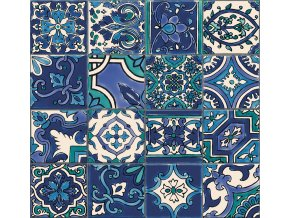 Obklad stěn Ceramics mozaika modrá 2700170, 67,5 cm