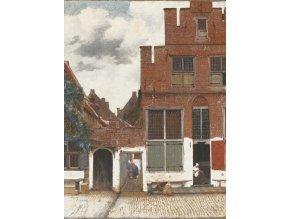 KOL8012 Luxusní fototapeta, View of Houses in Delft, 4dílná