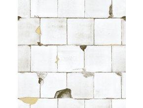 KOL15033 Luxusní fototapeta, White Tiles, 1dílná