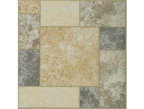 """Samolepicí podlahové čtverce """"dlaždice barevná"""""""