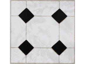 """Samolepicí podlahové čtverce """"mramor ornament"""""""