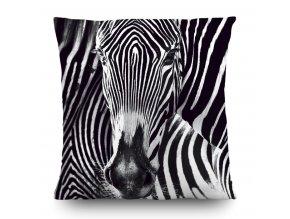 Dekorativní polštářek CN3605 Zebra 45 x 45 cm