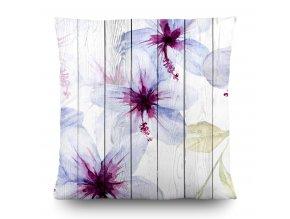 Dekorativní polštářek CN3617 Flowers 45 x 45 cm