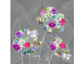 Dekorativní polštářek CN3619 Flowers 45 x 45 cm