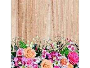 Dekorativní polštářek CN3622 Flora Wood 45 x 45 cm
