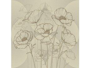 Dekorativní polštářek CN3626 Flora Light 45 x 45 cm