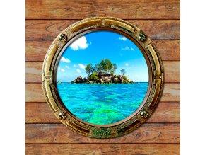 Dekorativní polštářek CN3627 Porthole 45 x 45 cm
