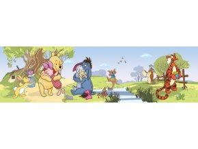WBD8070 Samolepicí bordura, šíře 14 cm Winnie The Pooh Adventure, 14 x 500 cm