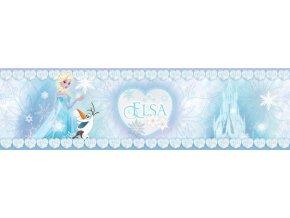 WBD8088 Samolepicí bordura, šíře 14 cm Frozen, 14 x 500 cm