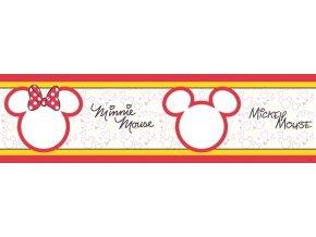 WBD8096 Samolepicí bordura, šíře 10 cm Mickey Mouse Cute , 10 x 500 cm